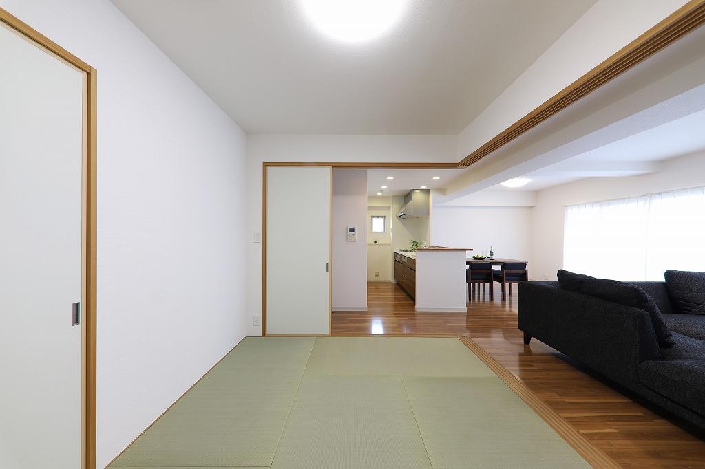和室の畳表替え