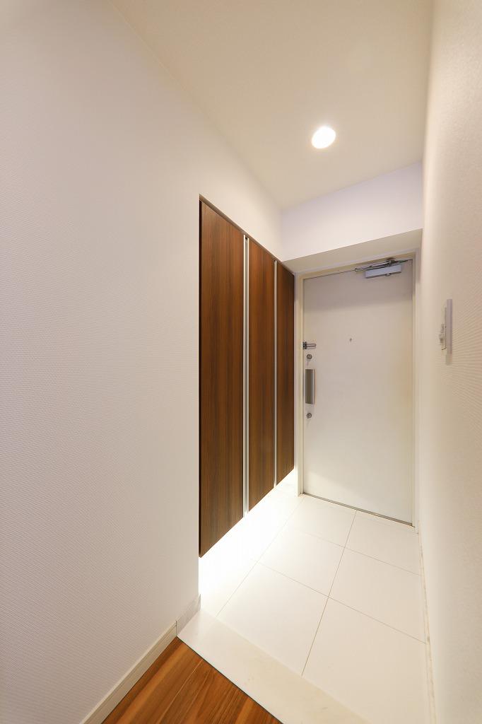 優雅な玄関スペース