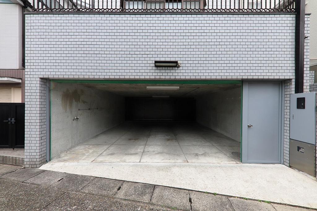 駐車場がありお車も安心です