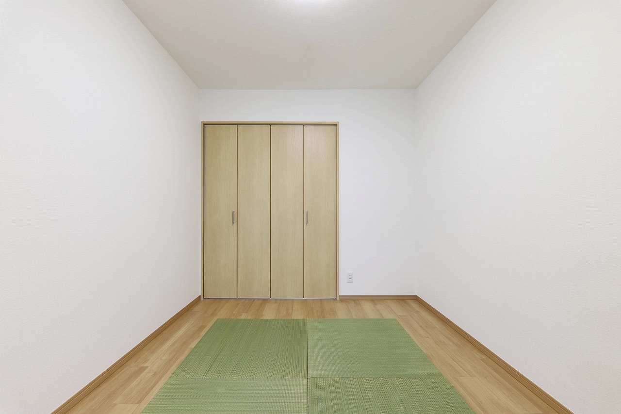 置き畳の洋室