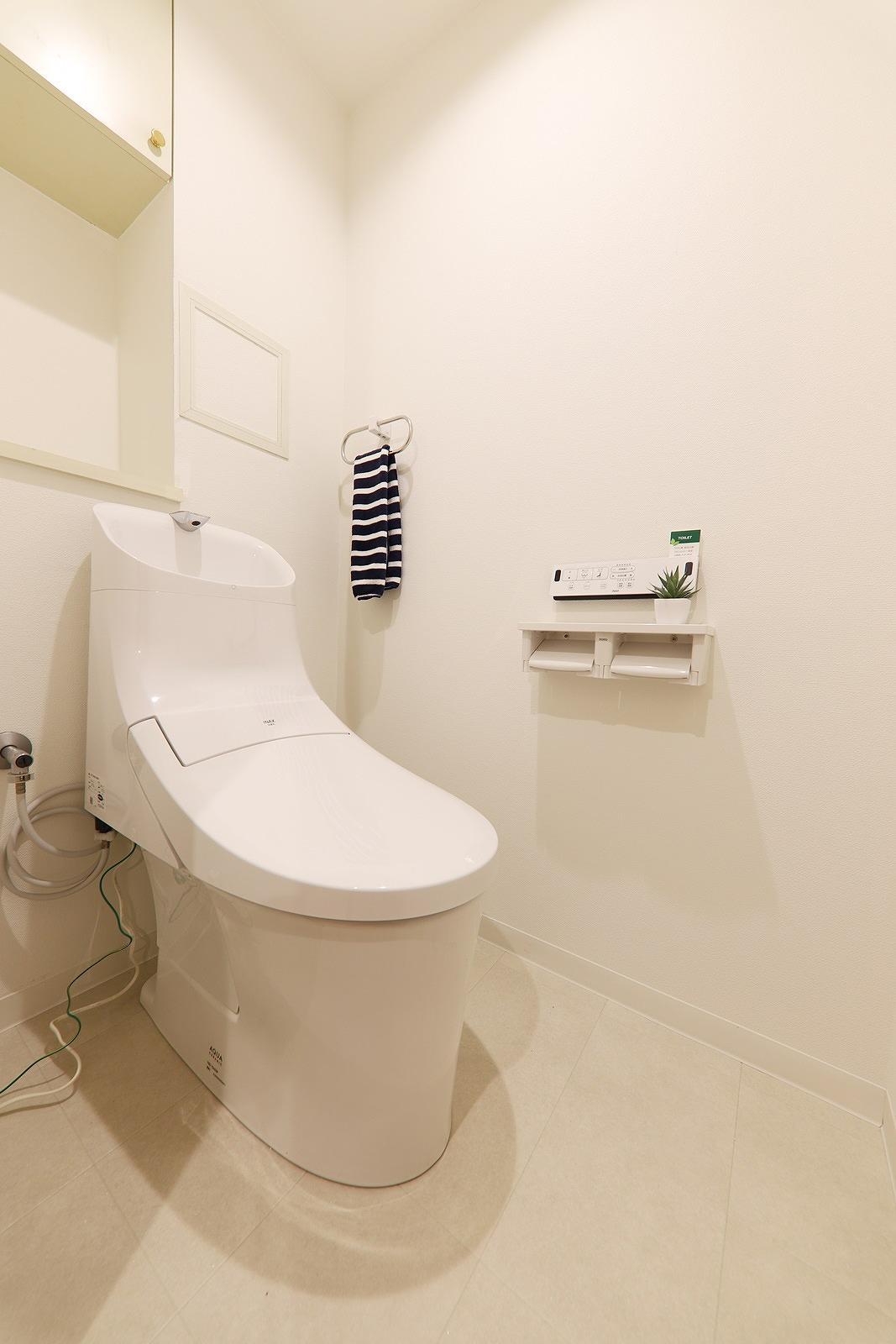 TOTOウォシュレット一体型トイレ新品交換