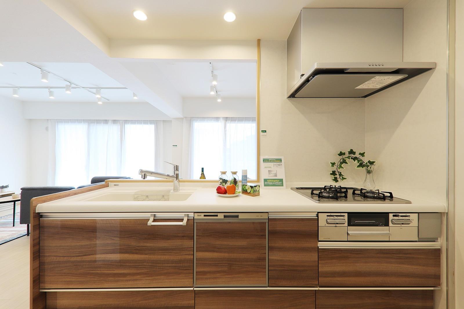 クリナップ製システムキッチン新品交換(食洗機付)