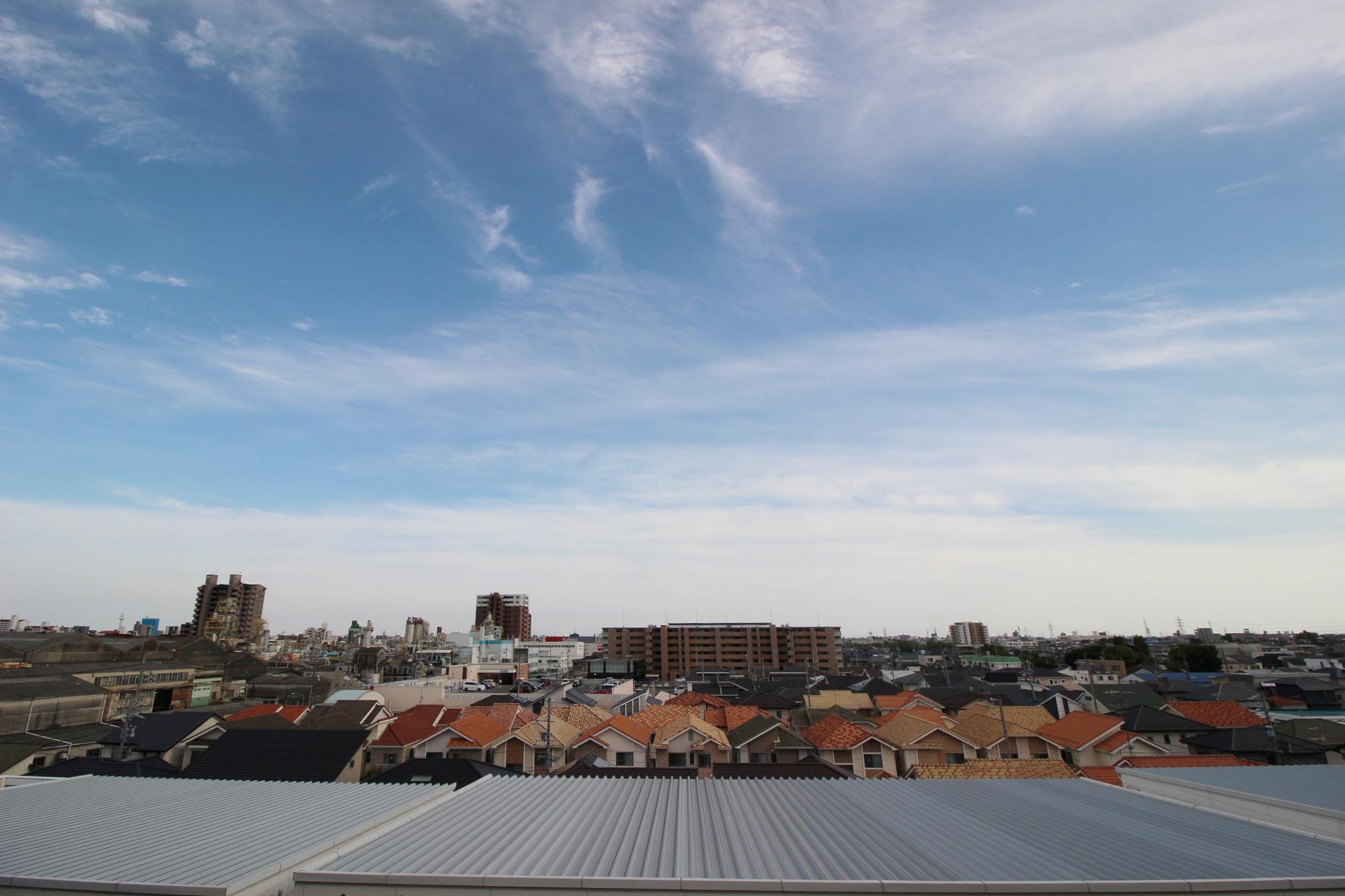 バルコニーからのsupe rview